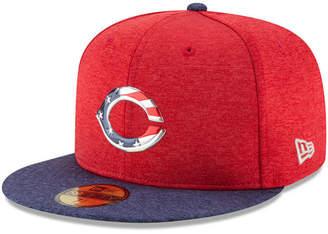 New Era Boys' Cincinnati Reds Stars & Stripes 59FIFTY Cap