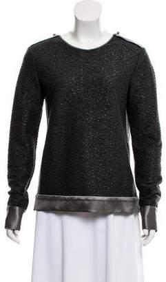 Prabal Gurung Long Sleeve Knit Top