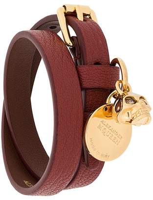 Alexander McQueen charm wrap bracelet