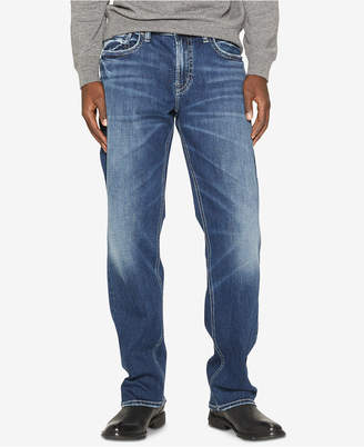 Silver Jeans Co. Men Grayson Easy-Straight Fit Stretch Jeans