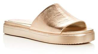 1 STATE 1.STATE Joaquin Metallic Slide Sandals
