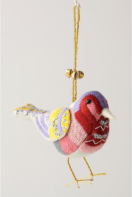 Branch-To-Bough Ornament, Robin