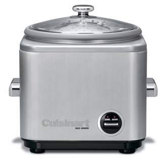 Cuisinart Brushed Stainless Steel Rice Cooker