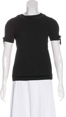 DSQUARED2 Wool Short Sleeve Top