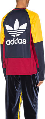 adidas X Bed J.W. Ford x Bed J.W. Ford Game Jersey BW in Legend Ink F17 | FWRD