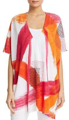 Donna Karan Embellished Caftan Top