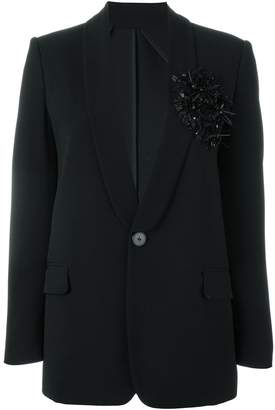 DSQUARED2 sequin flower blazer