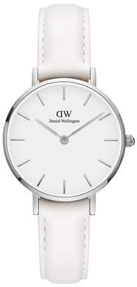 Daniel Wellington Classic Petite Bondi Leather Strap Watch, 28mm