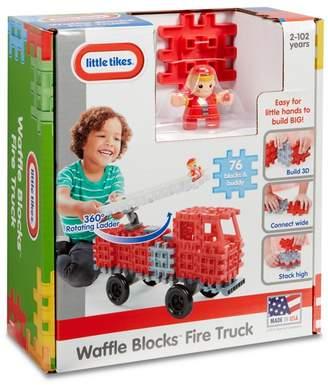 Little Tikes MGA Waffle Blocks Fire Truck
