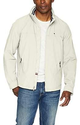 Tommy Hilfiger Men's Stand Collar Lightweight Yachting Jacket