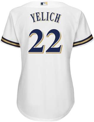 Majestic Women's Milwaukee Brewers Cool Base Yelich Jersey