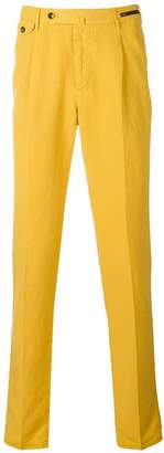 Pt01 tailored chino style trousers