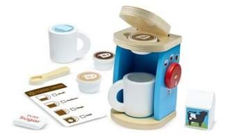 Melissa & Doug Machine é café et tasses en bois Multicoloured
