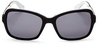 Kate Spade Women's Annjanette Polarized Square Sunglasses, 54mm