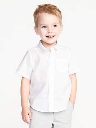 Old Navy Short-Sleeve Oxford Shirt for Toddler Boys