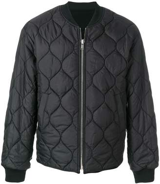 Juun.J embroidered back padded jacket