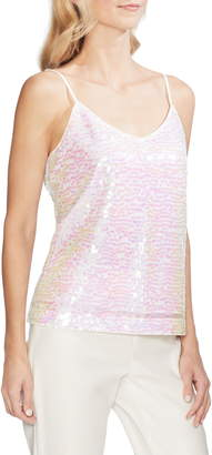 Vince Camuto Iridescent Sequin Camisole