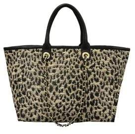 Betsey Johnson The Mighty Jungle Leopard Print Large Tote