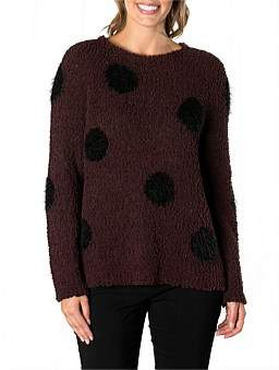 Marc O'Polo Marco Polo Long Sleeve Fluffy Spot Sweater