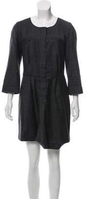 Etoile Isabel Marant Wool Scoop Neck Dress