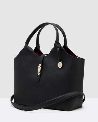 The Key Player Tote in Black and Baby Organiser Suite