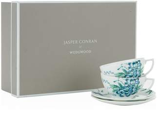 Jasper Conran At Wedgwood Chinoiserie Teacup And Saucer Gift Box (Set of 2)