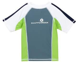 Snapper Rock Short Sleeve Rash Guard (Toddler, Little Boys, & Big Boys)