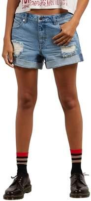 Volcom Stonewash Denim Shorts