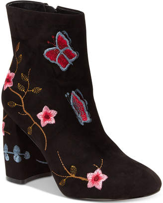 Nanette Lepore Nanette by Lilly Embroidered Booties