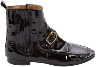 Etoile Isabel Marant Black Patent leather Ankle boots