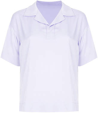 G.V.G.V. rugby collar sheer shirt