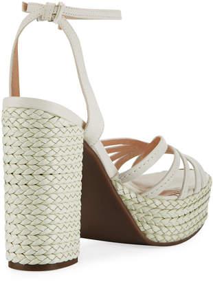 Schutz Hortencia Braided Platform Sandals