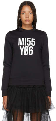 RED Valentino Black Miss You Sweater