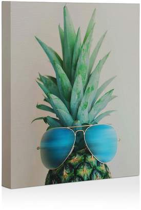 Deny Designs Deny Pineapple in Paradise Canvas, 8 x 10