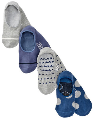 Richer Poorer Assorted Crew Socks - Pack of 4 $30 thestylecure.com
