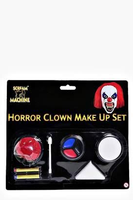 boohoo Halloween Horror Clown Make Up Set