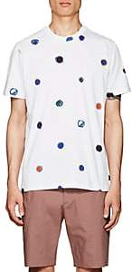 Paul Smith Men's Dotted Cotton T-Shirt - White