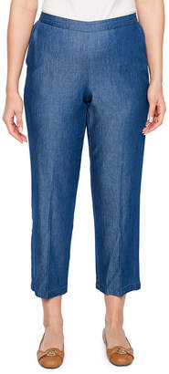 Alfred Dunner Sun City Classic Fit Slim Pants-Petite