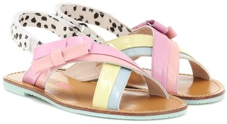 Sophia Webster Mini Andi Bow leather sandals