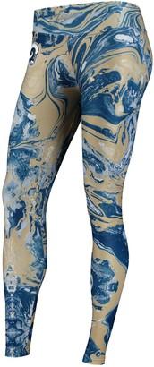 Unbranded Women's Zubaz Navy Los Angeles Rams Swirl Leggings