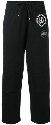 McQ cropped drawstring trousers
