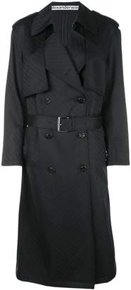 Alexander Wang monogram trench coat