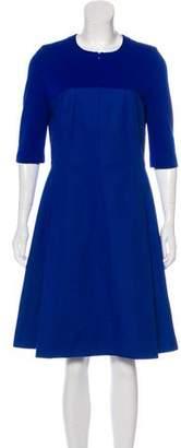 Akris Punto Knee-Length A-Line Dress