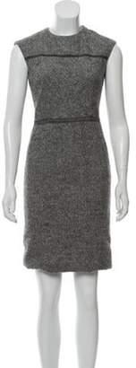 Agnona Sleeveless Mini Dress grey Sleeveless Mini Dress