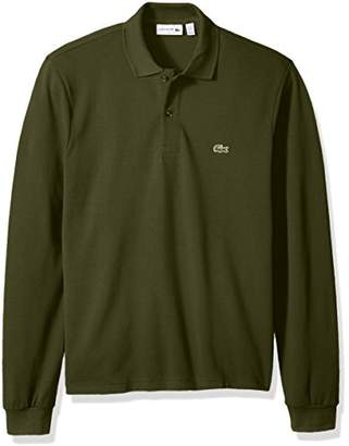 Lacoste Men's Long Sleeve Classic Pique L.12.12 Original Fit Polo Shirt