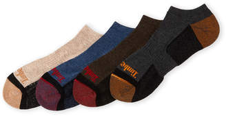 Timberland 4-Pack Outdoor Leisure No-Show Socks