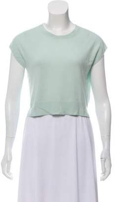 Allude Sleeveless Cashmere Top