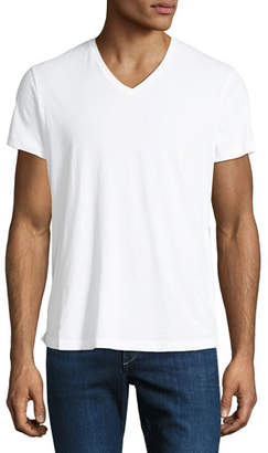 Orlebar Brown Men's V-Neck Cotton T-Shirt