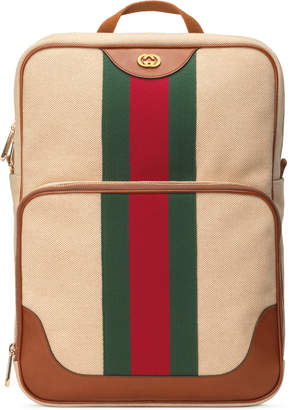 Gucci Vintage canvas backpack