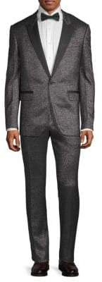 Lanvin Metallic Notch Lapel Suit